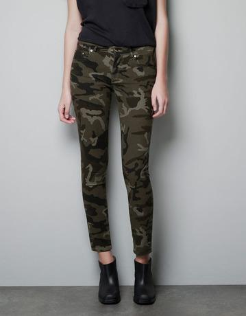 Sexy New Womens Military Camo Leggings Pants