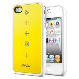 SGP iPhone 4 / 4S Linear Collaboration Karim Rashid [Harmony] Yellow