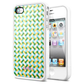SGP iPhone 4 / 4S Linear Collaboration Karim Rashid [Karma] Green