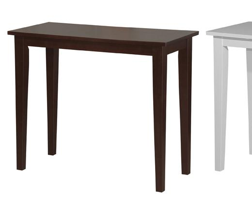 Shaker III 3' Wooden Console Table