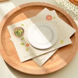 Round Shape Coffee Coaster Memo Pad
