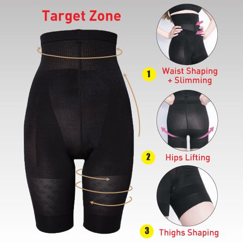 Shapee High Waist Body Shaper Breathable Fabric+High Quality Material!