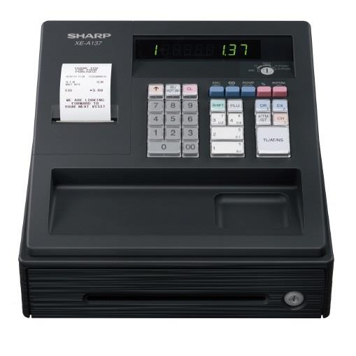 Sharp XE-A137 Cash Register XEA137 XEA-137 GST Ready Cashier Machine