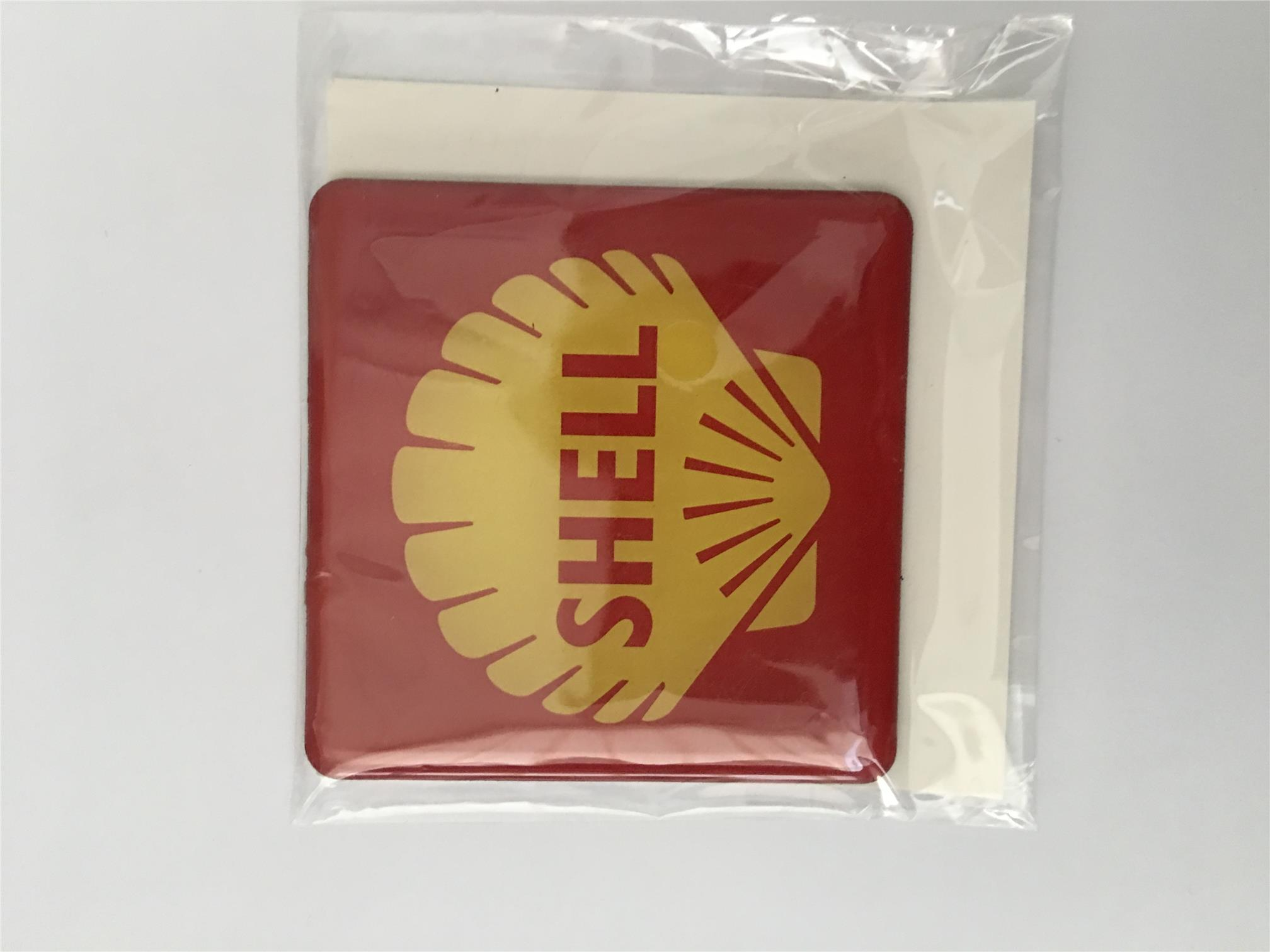 Shell logo Sticker magnet..