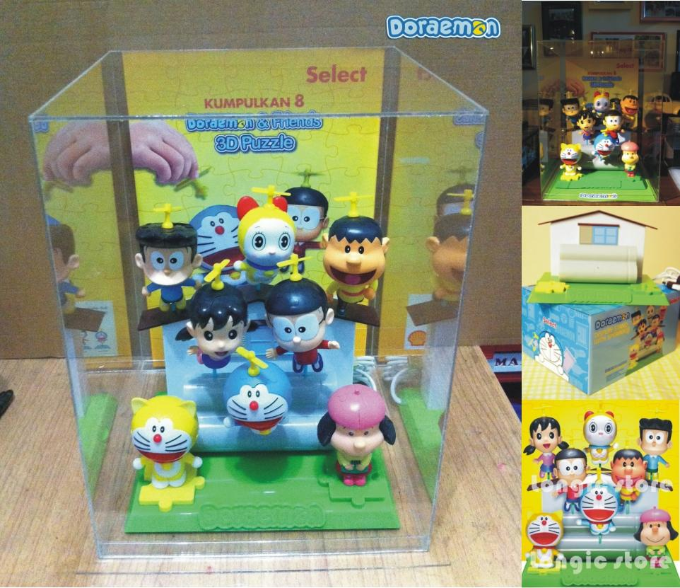 Shell Select- 8pcs Doraemon 3D Puzzle and speaker with Cover Casing