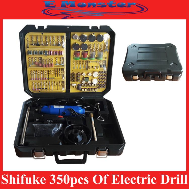 Shifuke 350pcs Accessories Of Electric Drill Grinder & Grinding Set