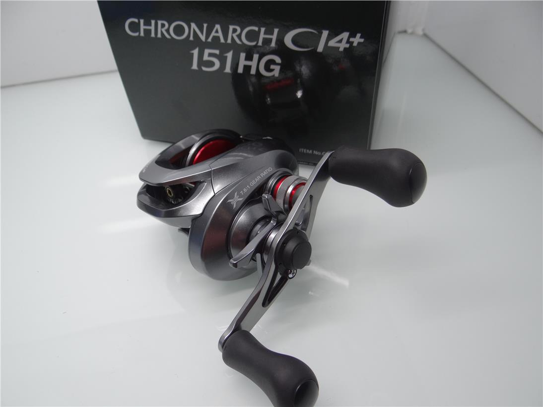 Shimano Chronarch CI4+ 151HG fishing reel