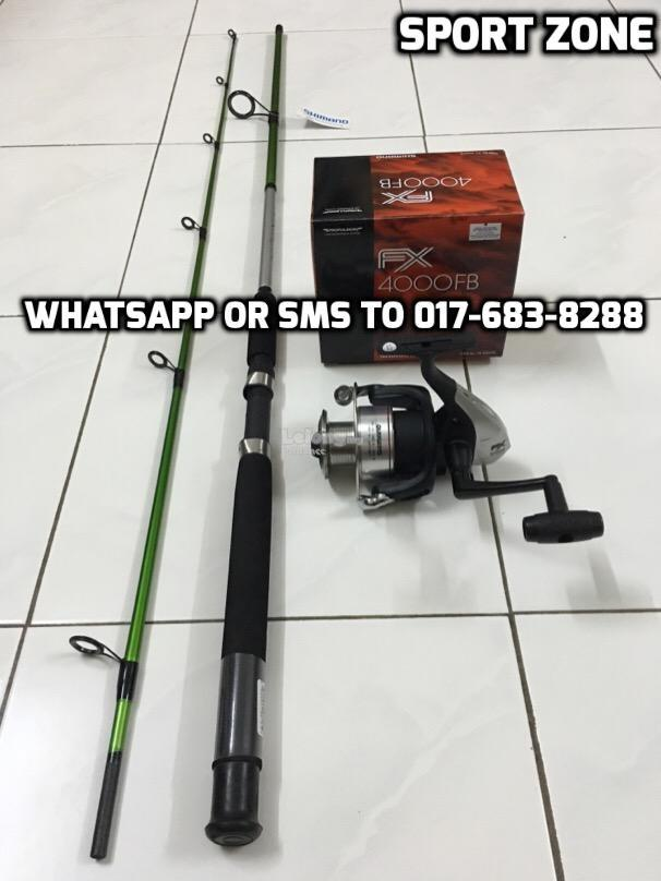 Shimano D9 Fishing Combo Set ( Rod + Reel ) NEW PROMOTION FULL SET