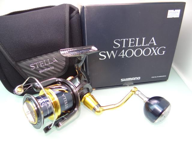 Shimano Stella  SW4000XG fishing reel