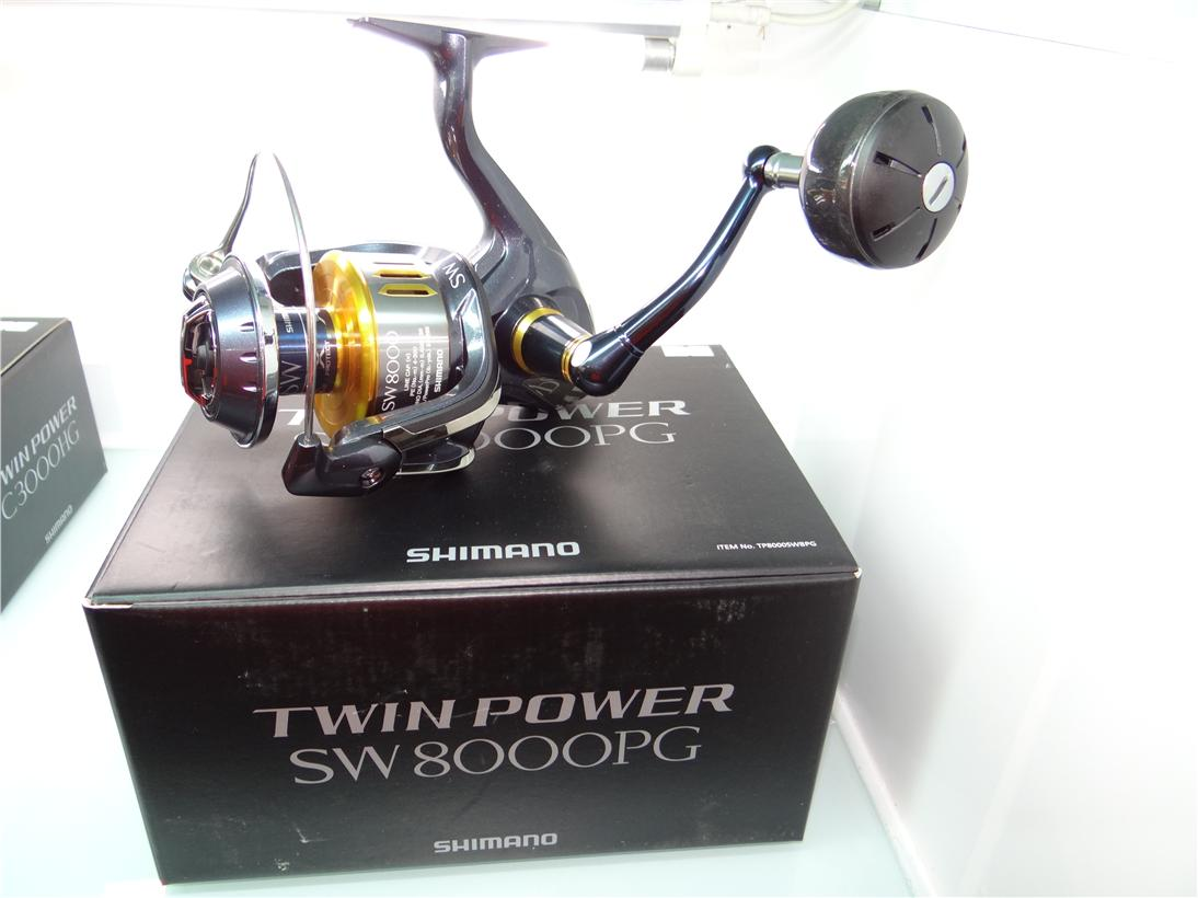 Shimano Twin Power New2015  SW6000PG fishing reel