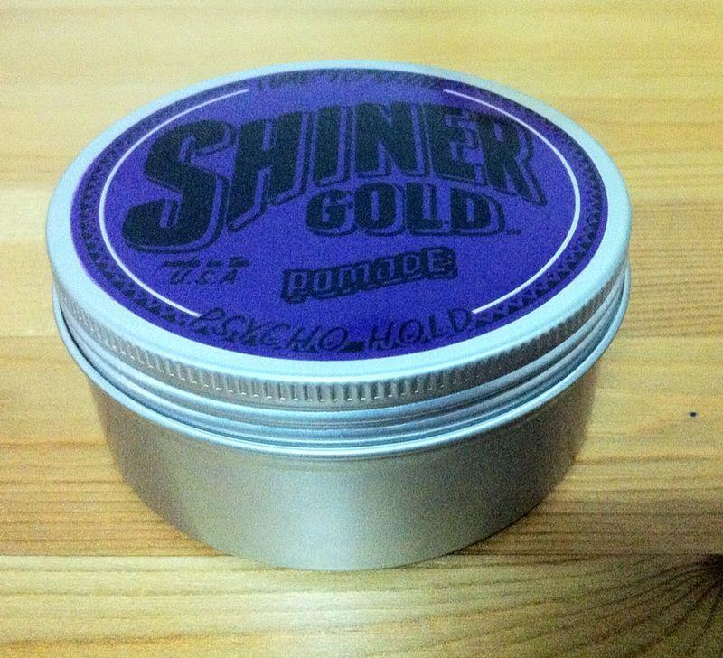 Shiner Gold Pomade Psycho Hold (Extra Strong)