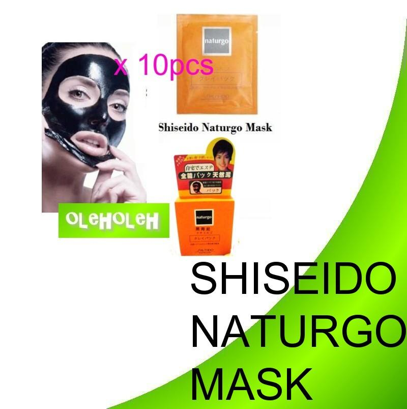 Shiseido Naturgo Mask 1box 10pcs