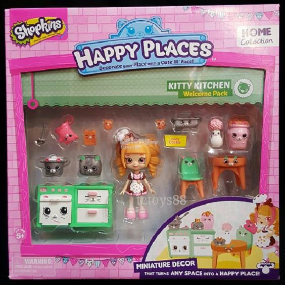 SHOPKINS Happy Places Miniature Decor Toy Home Collection. Offer.!!!