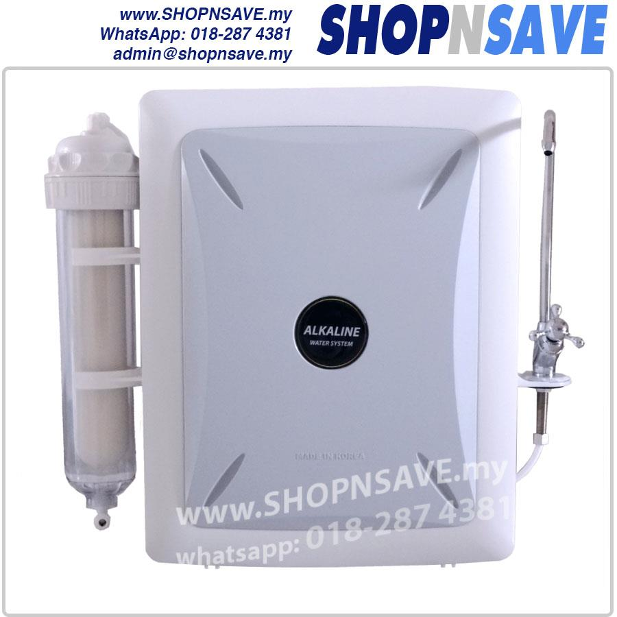 SHOPNSAVE *Authentic KOREA Alkaline Water Purifier, 6 Water Filters