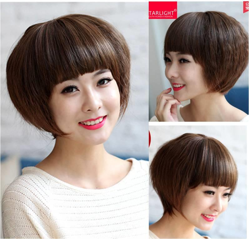 short wig Corn12/ready stock/ rambut palsu