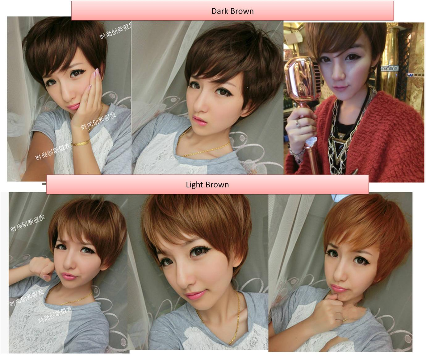 short wig*d4 ready stock-rambut palsu/promotion/ promo L