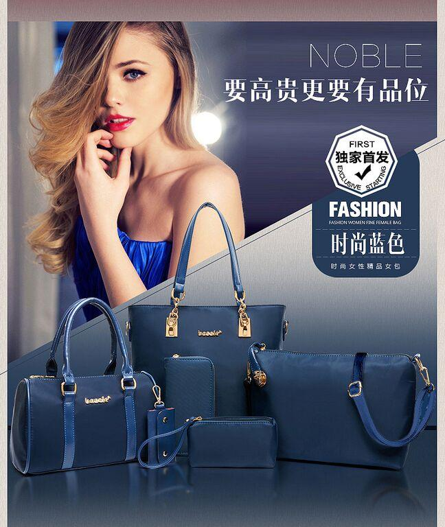 SHOULDER BAG 6 IN 1 BAG - BBFX2850BLUE