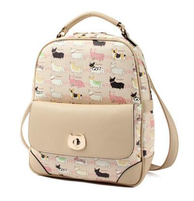 Shoulder bag cartoon backpack