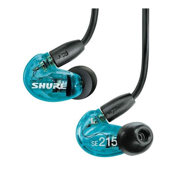 SHURE SE215 Sound Isolating™ Earphones - Blue