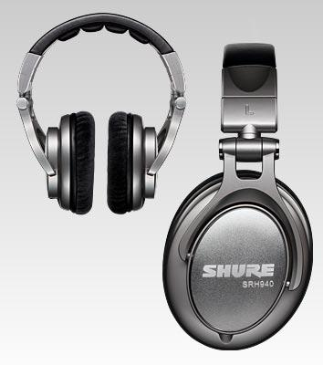 Shure || SRH940 Professional Studio Headphone