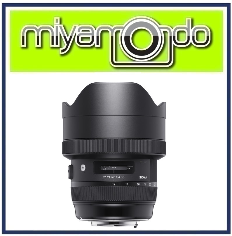 Sigma 12-24mm f/4 DG HSM Art Lens for Nikon