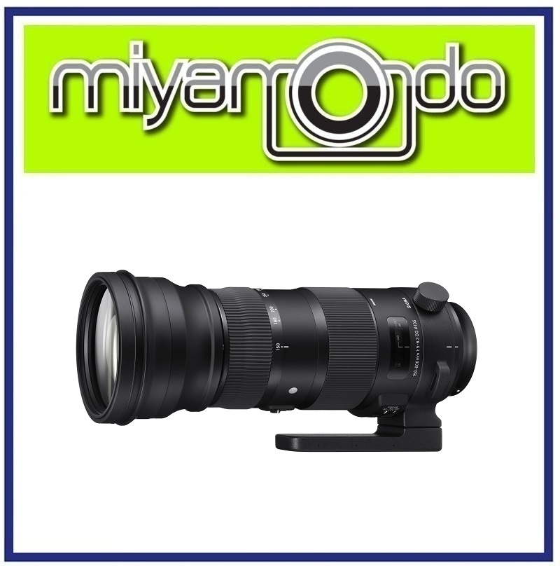 NEW Sigma 150-600mm f/5-6.3 DG OS HSM Sports Lens For Canon