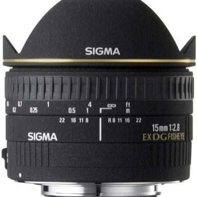 NEW Sigma 15mm F2.8 EX DG DIAGONAL Fisheye Lens [GiantMoni]