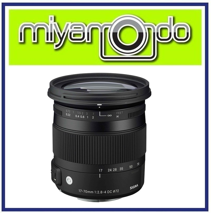 NEW Sigma 17-70mm F2.8-4 DC MACRO OS HSM Contemporary Lens For Nikon