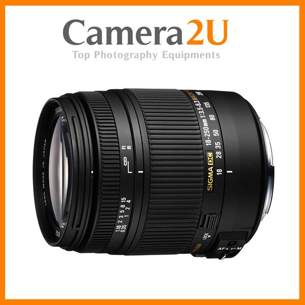 NEW Sigma 18-250mm F3.5-6.3 DC MACRO OS HSM Lens For Canon (Ver.2)