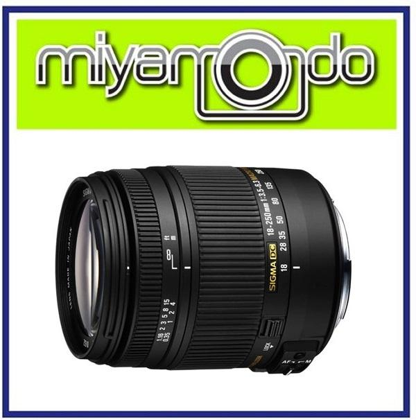 NEW Sigma 18-250mm F3.5-6.3 DC MACRO OS HSM Lens For Nikon (Ver.2)