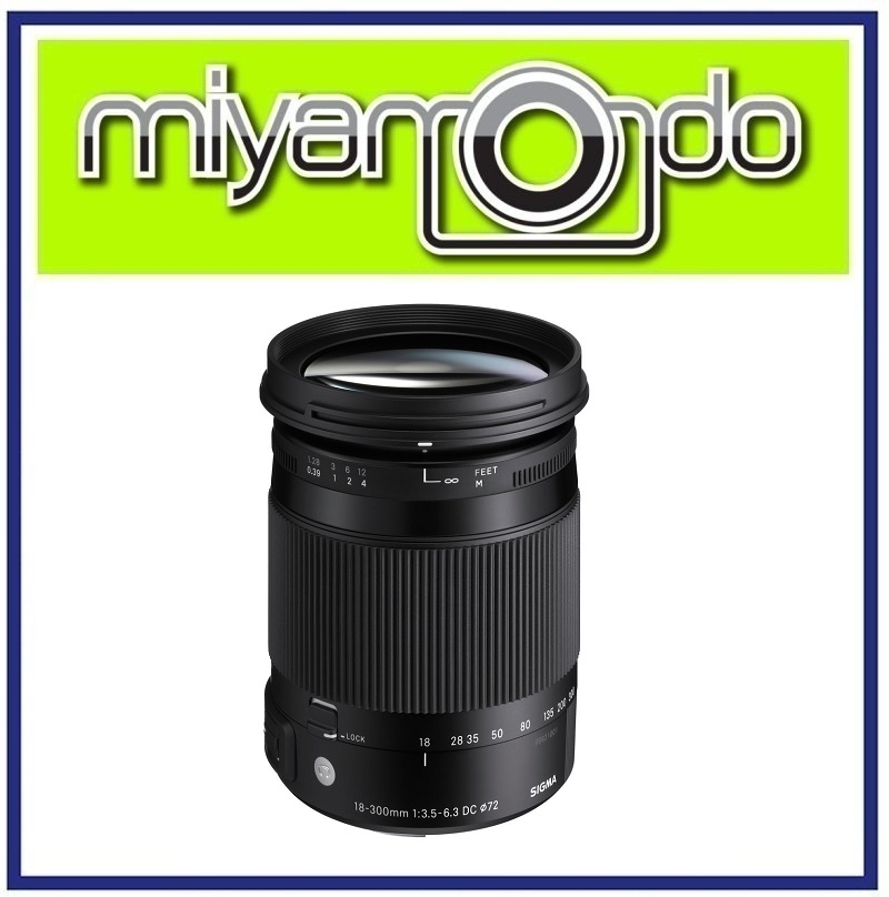 NEW Sigma 18-300mm f3.5-6.3 DC Macro OS HSM Contemporary Canon Mount