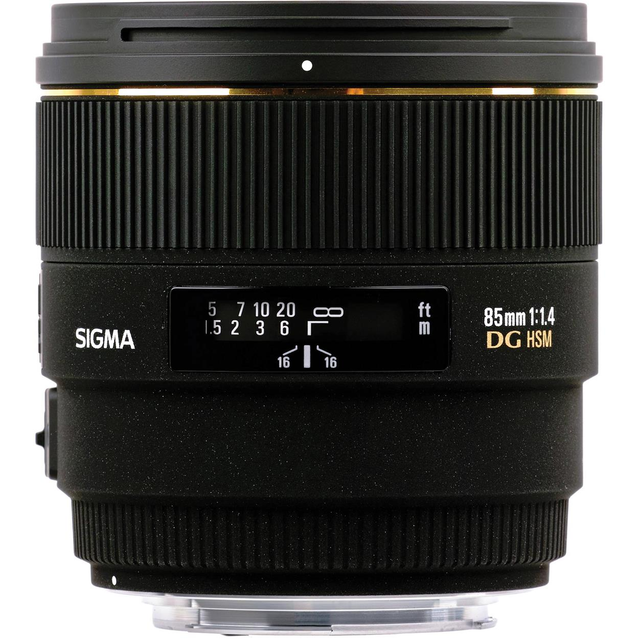 SIGMA 85MM F1.4 EX DG HSM 2YEARS WARRANTY