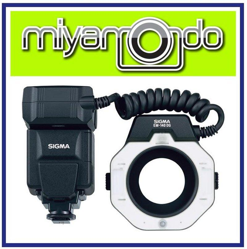 NEW Sigma EM-140 DG Macro Ring Flash For Canon Nikon