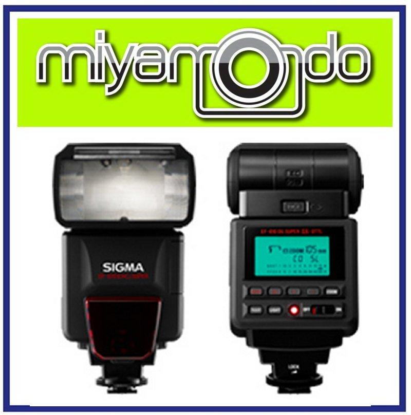 NEW Sigma Flash EF-610 DG Super For Canon Nikon