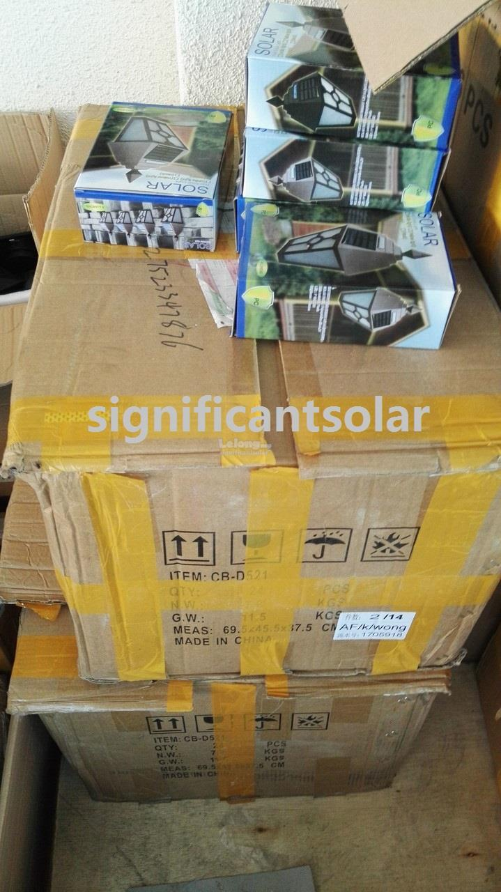 SIGNI 2016 Waterproof Solar Euro2 ABS LED Solar Light