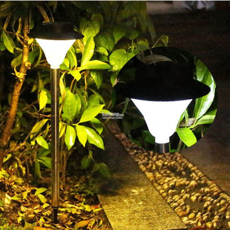 SIGNI Solar Powered 24 Led Outdoor Garden Light Waterproof
