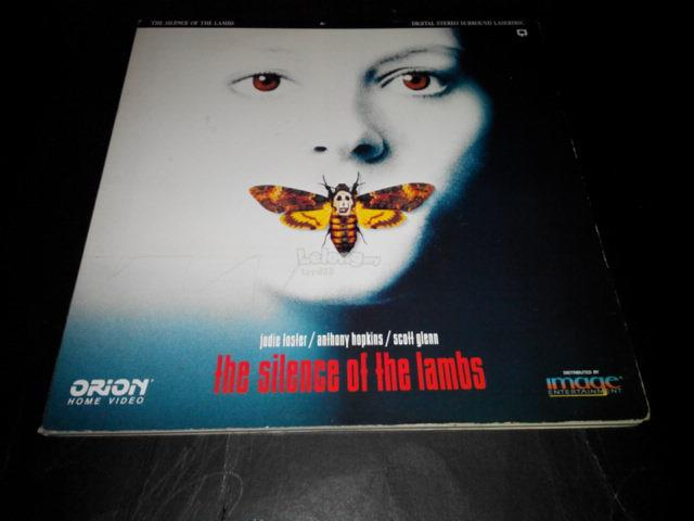 THE SILENCE OF THE LAMBS LD LASER DISC