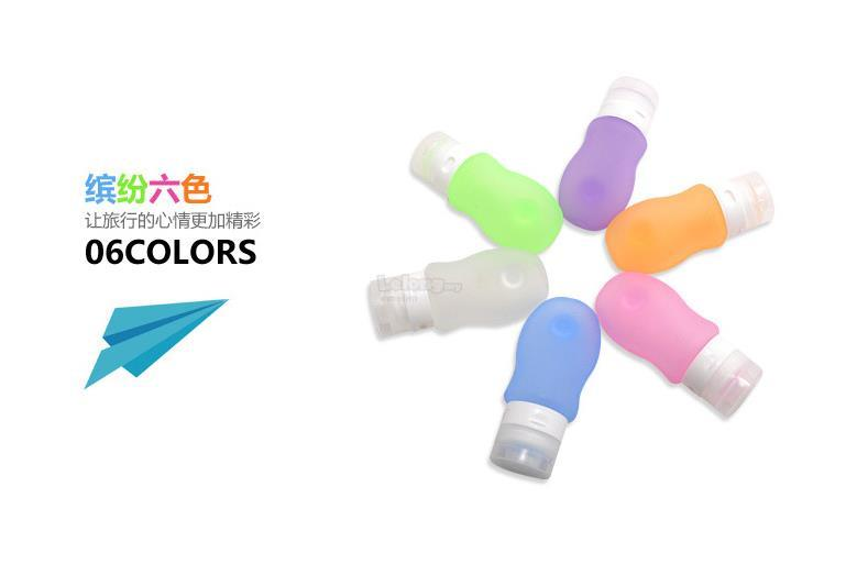 Silicone Travel tubes 60ml Squeezable