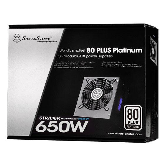 SILVERSTONE STRIDER PLATINUM SERIES ST65F-PT FULL MODULAR POWER SUPPLY