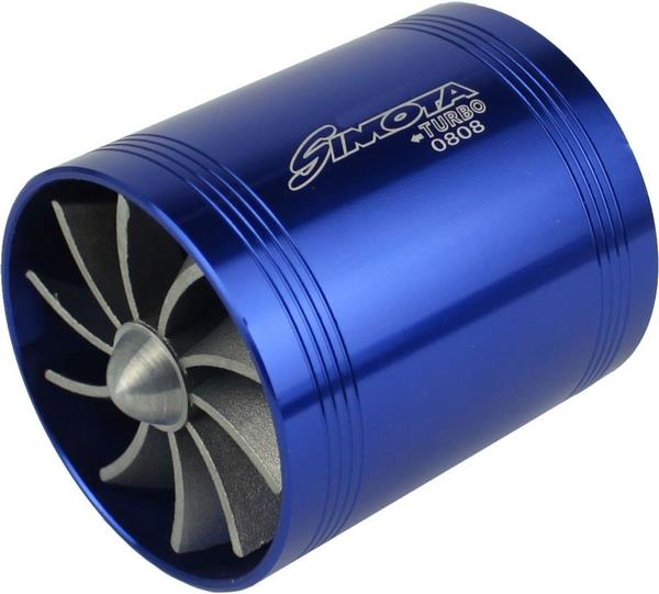 SIMOTA 2.5 Twin Fan Turbo Jet Universal for All Air Filter Intake Pipe