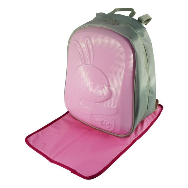 Simple Dimple Pink Bunny Papa Shield Bag