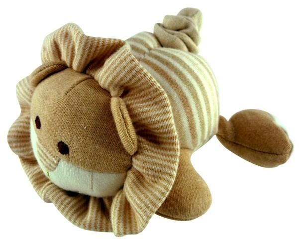Simple Dimple Sleepy Lion Organic Vibrating Toy
