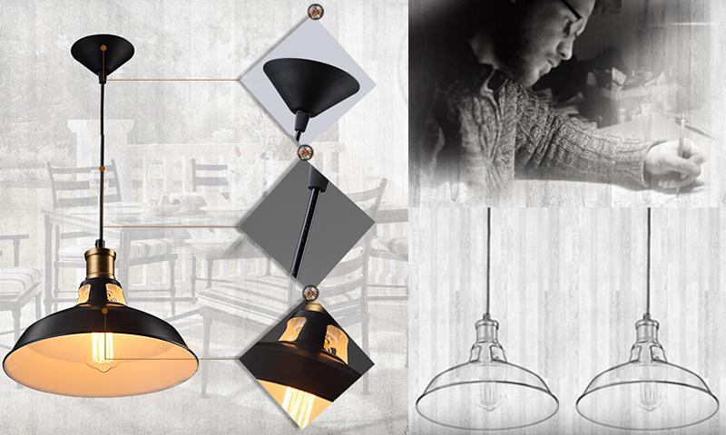 Simple Pendent Light For Cafe and Restorent