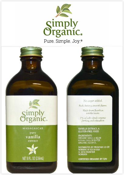 Simply Organic, Pure Vanilla Extract, Madagascar (236 ml)
