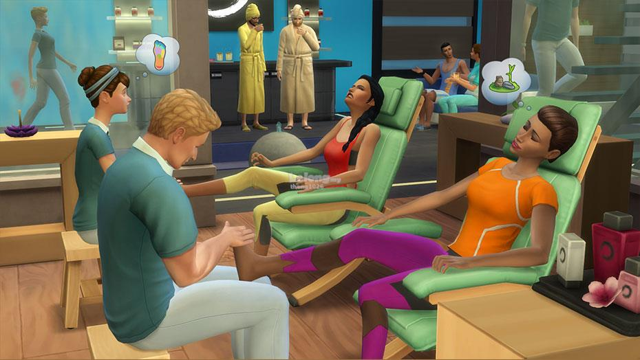 The Sims 4 - Spa Day (Game Pack) (PC)
