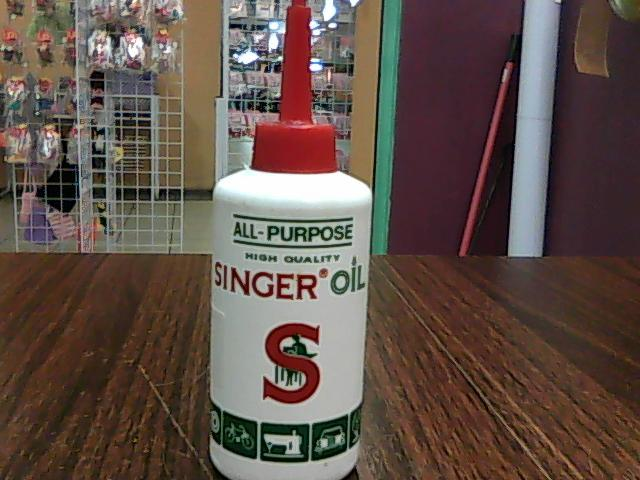 singer machine oil