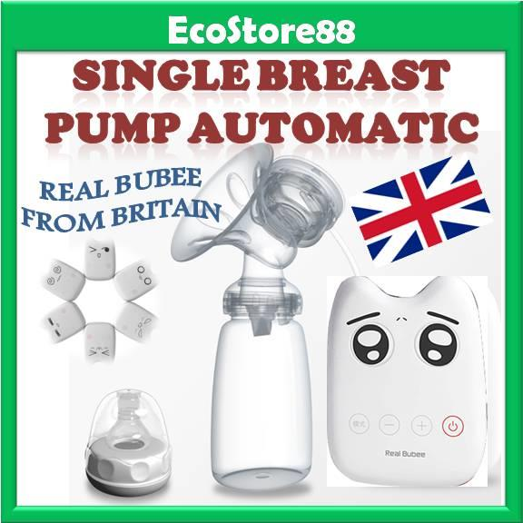 Single Breast Pump Automatic Electric Real Bubee