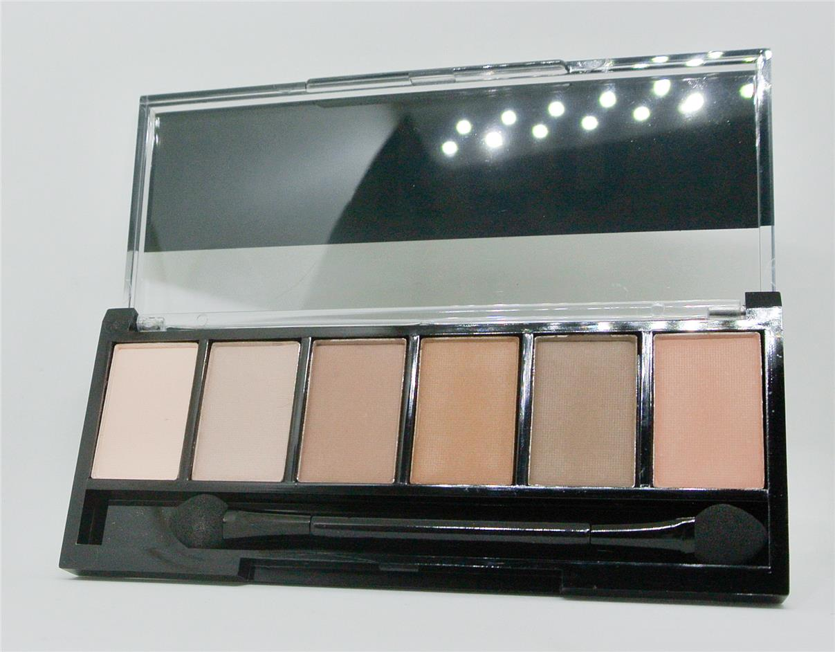 Sivanna Eye Shadow 6 Palette Skin Tone