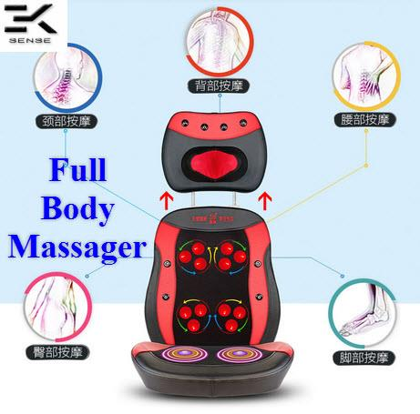 SIYU Multifunction Adjustable Full Body Massage Cushion (SY-800b)