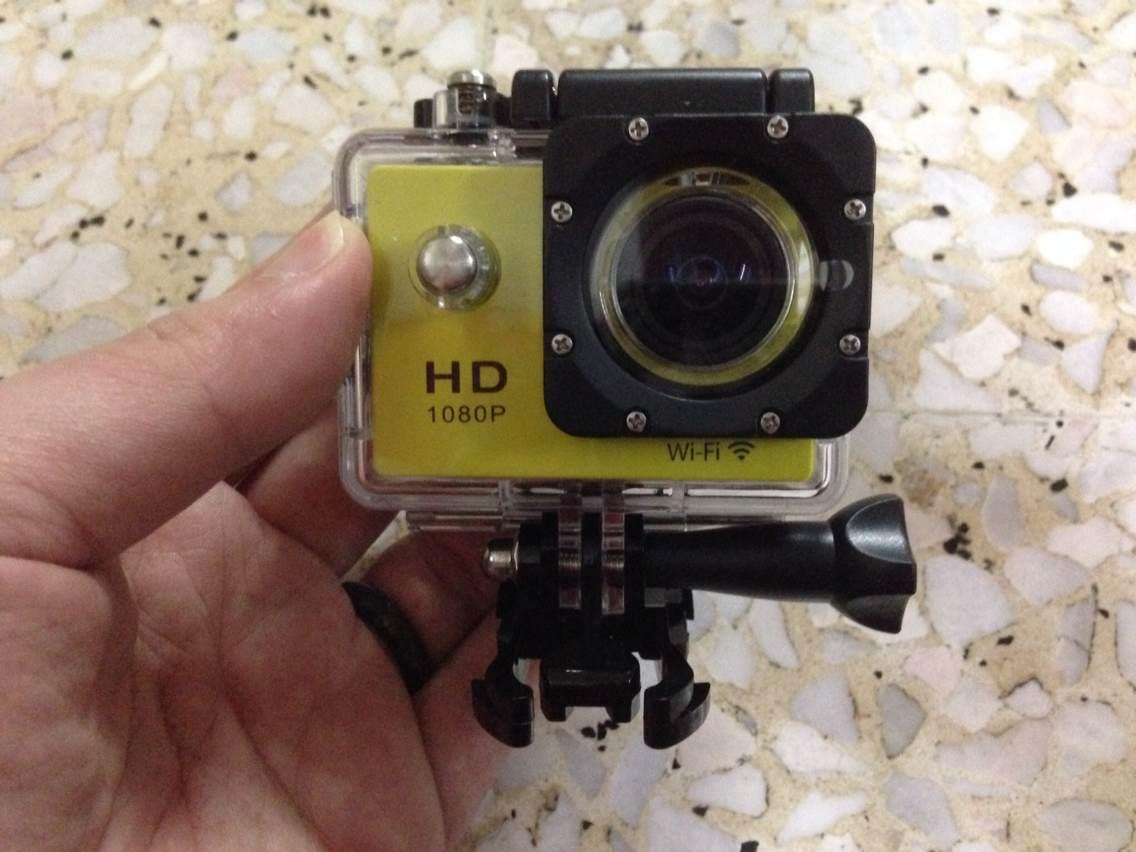 SJ-4000 Mk II with WiFi Function Action Camera YELLOW  like gopro